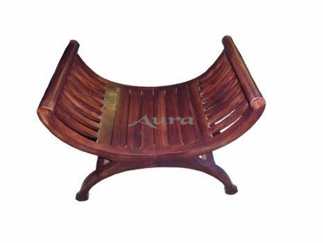 105010 Indonéz fa ollós szék világos