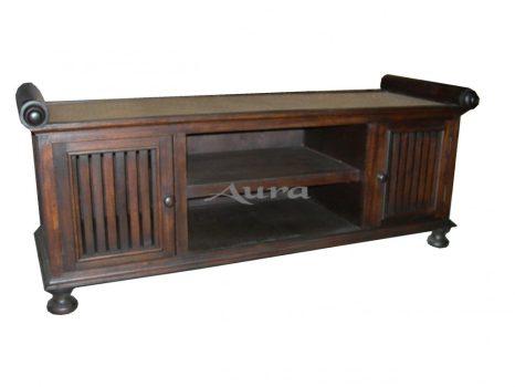 106012 Thai rattanos TV szekrény