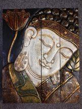 301021 Buddha falikép