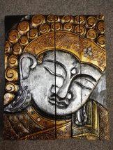 301022 Buddha falikép
