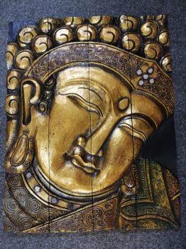 301026 Buddha falikép