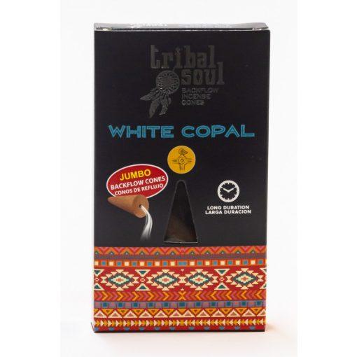 500913 TRIBAL SOUL White Copal Backflow