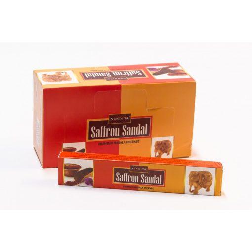 500990 NANDITA Saffron Sandal