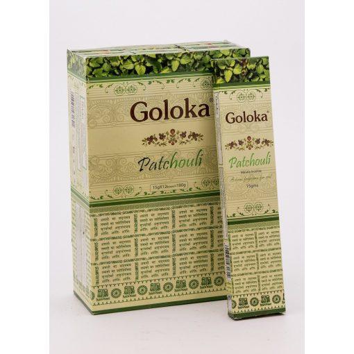 501021 GOLOKA Patchouli füstölő