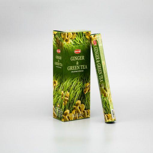 501088 Hem Ginger-Green tea