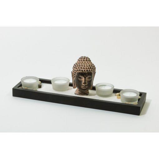 503030 Buddhás mécsestartó