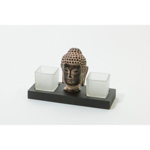 503032 Buddhás mécsestartó