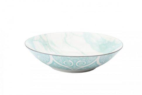 Modern design porcelán nagy  tál. Brand:Nora's design
