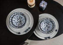 Flowers of princess 8 részes modern design porcelán étkészlet 2 személyre. Brand:Nora's design