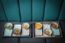 Happy family 12 részes modern design porcelán étkészlet 6 személyre. Brand:Nora's design